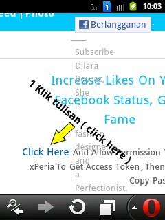 ... atau izinkan aplikasi. Namun sebelumnya fb kamu harus bersifat Publik